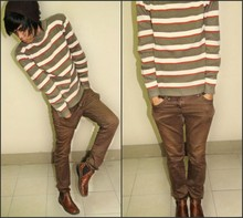 Lesturr Gatzz - Brown Bonnet, Sweat Shirt, Giordano Jeans, Josef Seibel Boots - COUNTRY BROWN