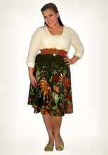Elizabeth Hernandez - A.N.A V Neck Top, Body Shop Belt, Mossimo Floral Skirt, American Eagle Shoes - The Good Shepherd.