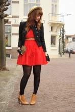 Iris . - Clubcouture Dress, Chloé Boots - If love is a red dress