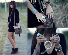 Cheyser Pedregosa - H&M Animal Print Bag, Diy Dream Catcher Necklace - THE DREAM CHEYSER