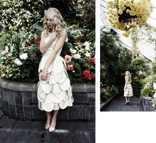 Kelsey Genna - Kelsey Genna Petal Dress - Meet you in the Garden