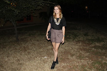 Taylor C - Free People Shorts, Acne Studios Boots, Acne Studios Top, Miu Bag - Free People shorts