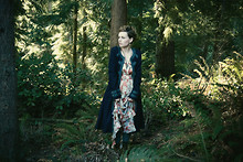 Pesha Forest - Free People Overcoat - We'll talk of living forever
