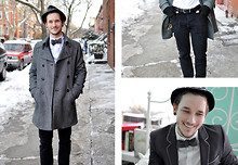Bobby Hicks - Hudson Pete Five Pocket Skinny, H&M Jacket, Bow Tie - Hudson at Home