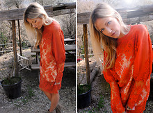 Michele C. - Vintage Dress, Diane Von Furstenberg Boots Dvf - Lovely Lace....une americaine blog spot
