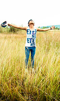 Riefky Delfiandre - Billabong, Merch Of Eternal Eternity, Nudie Jeans, Croocs Silver - Free nature