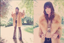Wild At Heart - Luv Aj The Mini Crystal Cluster Necklace, Luv Aj The Graduated Crystal Necklace, Luv Aj The Lemon Quartz Pipe Necklace, Stone Cold Fox Lace Jagger Bells, Vintage Fur - Peace like a river.