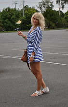 Anna V - Myer Dress, Myer Shoes, Witchery Bag - Feeling blue