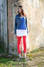 Federica B - Chiccastyle Long Tank - Color Block!