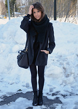 Marianna M - Mum's Old Blazer, Zara Bag, Bianco Boots - No more snow please
