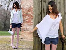 Federica B - Chiccastyle Top - Pastel Colors In My Spring's Look!