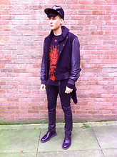 Oscar Lindqvist - Prada Brogues, A/W 10, Nakkna Hoodie, French Connection Uk Baseball Jacket, Givenchy Limited Edition T Shirt, Vivienne Westwood Hero Malachite Ss11, Acne Studios Snakepleather - MMMSHINY