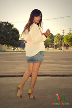 Claudia Suely -  - Yellow shoes satisfaction