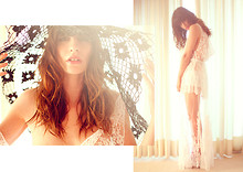 Wild At Heart - Vintage White Lace Dress, White Lace Maxi, Big Vintage Hat - See through me.