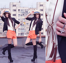 Elis Trang - Zara Short, H&M Jew - Spring day...( check it again, thks guys :X )