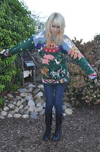 Mollie Paige - Noah's Ark Sweater - Noah has nothing on this... FOR SALE