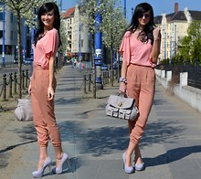Daisyline . - H&M Blouse, River Island Bag, Heels, H&M Pants - Happy Friday :)