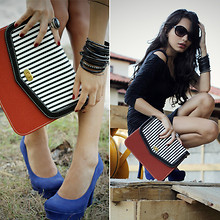 Alana Ruas - Terminal D Bag, Di Santini Shoes - High contrast