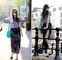 Andy T. - Asos Dress, American Apparel Tee, Kipling Bag - I WANTED TO BE