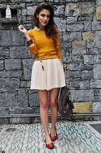MARITSANBUL - Prada Mango Top,Chanel Earrings,Tory Burch Flats, Bag,Vintage Belt - Are you gonna miss me?