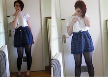Carolyn Alice Seekings - Asda Top, Primark Skirt, Dorothy Perkins Heat Necklace, New Look Shoes - Lets Go On A Boat Ride