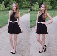 Shannon K. - Zara Dress, Urban Outfitters Belt, Urban Outfitters Heels - I will follow you