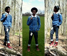 Sidney Richardson - Zara Jean Jacket, Cheap Monday Jeans, Sebago Boots - But I do get lonely, scared I'm phony