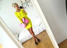 Victoria Törnegren - La Dress Yellow - Yellow dress