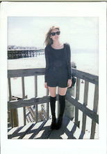 Jade Elise - Forever 21 Shorts, H&M Boots And Sunglasses, Lf Socks - That home