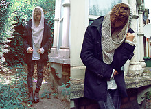 Charlie Matthews - D.I.Y Snood, Gap Trench Mac, Bershka Jeans - Watching Matches Turn To Ashes