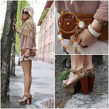 Anna Wiklund - Lipsy Suede Jacket, Jeffrey Campbell Foxy Heels - FOLLOW THE STREET AND YOU'LL FIND ME...