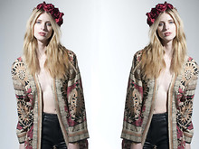 Supadupa Vintage - Sdvtg Ethnic Shrug, Sdvtg Floral Head Piece - It Is My Pleasure...