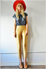 Coury Combs - Fancytreehouse Vintage Riding Pant, Fancytreehouse Vintage Bow Tie Blouse - Wilderness girls DON'T bluff!