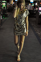 Chiara Ferragni - Storets.Com Sequined Dress - W Las Vegas
