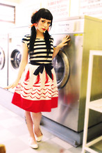 Betty Amazing - Laundry Room Boat Dress - Doing Laundry, Wearing Laundry Room