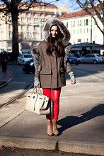 Adriana Léon - Hermës Birkin Bag, Jeffrey Campbell Wedges - #1 back from the cold days