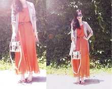 Erika Suen - Es Dress - MY ORANGE DRESS