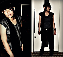 Pat Villamor - Band, Rue21 Stripes Tee, Kenneth Cole Buckled Belt, Nine West Boots - Who Run The World?