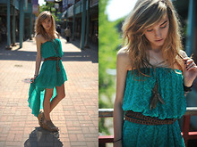 Abigail Grohmann - Free People Dress - Chinatown-061211
