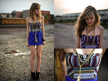 Abigail Grohmann - Urban Outfitters Aztec Print Dress - She Was Called Misae