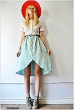 Coury Combs - Vintage Skirt - There's something in the water.