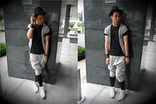 Shane Chua - Payless Fedora, F&H Harem, Wade Shoes, Wrangler - Meggings