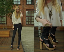 Alina Whybe - Topshop Jeans - ---