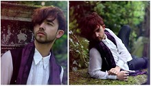 Charlie Matthews - Vintage Shirt, India Scarf, Topman Trousers - Haunted Heartbeats
