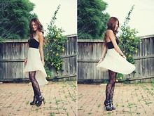 Camille Sioco - Hipster Dress, Jolie Ankle Boots - Twist and Shout