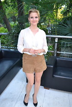 Absolutely Faaabulous - Topshop Short, Maje Shirt, Ralph Lauren Shoes - Italian Fashion Party at Just Cavalli Cafe, Milan