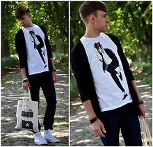 Adam G. - Made By My Friend T Shirt, Asos Bag - Smooth Criminal ...