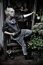 Kai Leingod - Topman Hoodie, Zara Juliens Skinny Pants, Camden Army Boots - Stories of Utopia