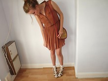 Kerry Hopkins - Primark Dress, Urban Outfitters Heart Straw Bag, Primark Socks, My Mother Shoes - Undiscovered