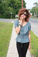 Christina Caradona - Hundson Jeans, American Living Top - Made For Summer